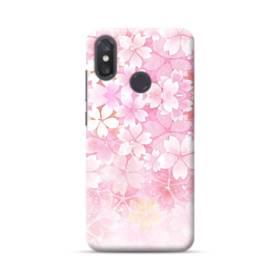 爛漫・ピンク&桜色 Xiaomi Mi 8 ポリカーボネート ハードケース