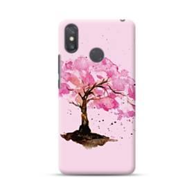 水彩画・桜の木 Xiaomi Mi Max 3 ポリカーボネート ハードケース