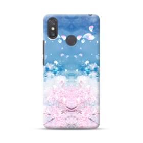 桜の花びら Xiaomi Mi Max 3 ポリカーボネート ハードケース