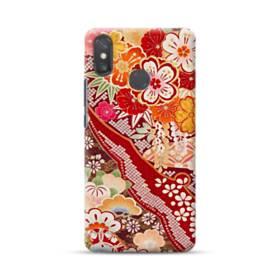 和・花柄 Xiaomi Mi Max 3 ポリカーボネート ハードケース