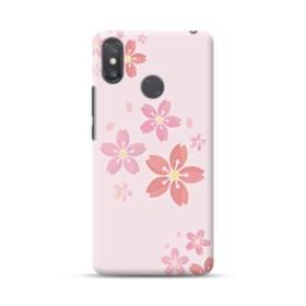 春・桜の花001 Xiaomi Mi Max 3 ポリカーボネート ハードケース