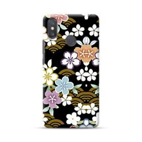 和風・桜&浪 Xiaomi Mi Max 3 ポリカーボネート ハードケース