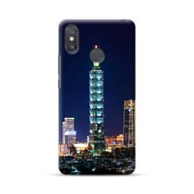 ザ・高層ビル Xiaomi Mi Max 3 ポリカーボネート ハードケース