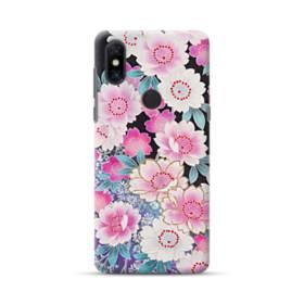和の花柄 Xiaomi Mi Mix 3 ポリカーボネート ハードケース