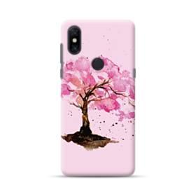 水彩画・桜の木 Xiaomi Mi Mix 3 ポリカーボネート ハードケース