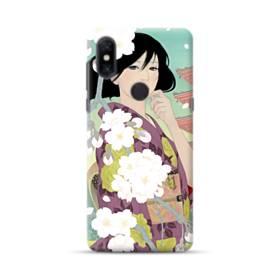 ザ・桜&ジャパンガール! Xiaomi Mi Mix 3 ポリカーボネート ハードケース