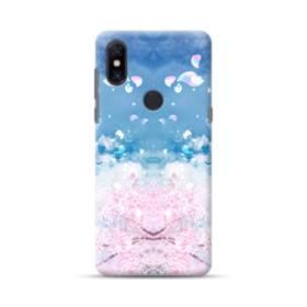 桜の花びら Xiaomi Mi Mix 3 ポリカーボネート ハードケース