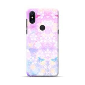 爛漫・抽象的な桜の花 Xiaomi Mi Mix 3 ポリカーボネート ハードケース