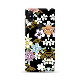 和風・桜&浪 Xiaomi Mi Mix 3 ポリカーボネート ハードケース
