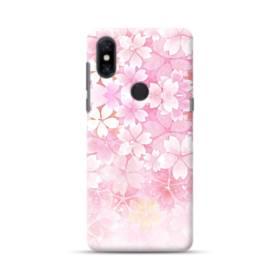 爛漫・ピンク&桜色 Xiaomi Mi Mix 3 ポリカーボネート ハードケース